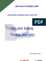 programa eleitoral / plano estratégico - ps ourém / paulo fonseca 2009