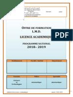 A1 Licence Automatique