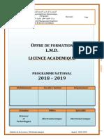 A2 Licence Electromécanique