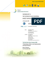Proceedings of the Workshop on the Science in Ecosystem-based Management
