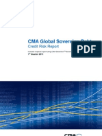 CMA Global Sovereign Debt Credit Risk Report Q1 2011