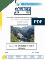 Volume I- étude des dangers industriels