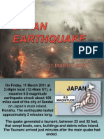 JAPAN EARTHQUAKE MARCH 2011