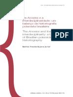TrabalhosSuplementos_Históriografia - Os Annales e a Interdisciplinaridade Um Balanço Da Historiografia Polemista Brasileira