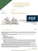 Tematiche Interdisciplinari - Aspettative Formative - II Ciclo