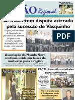 JORNAL VISÃO REGIONAL - EDIÇÃO 78 - ABRIL DE 2011 - UNAÍ - PARACATU-MG