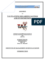 Tax Planning India