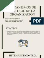 MECANISMOS DE CONTROL DE LA ORGANIZACIÓN
