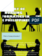 HISTORY OF NURSING INFORMATICS IN THE PHILIPPINES grp. 3