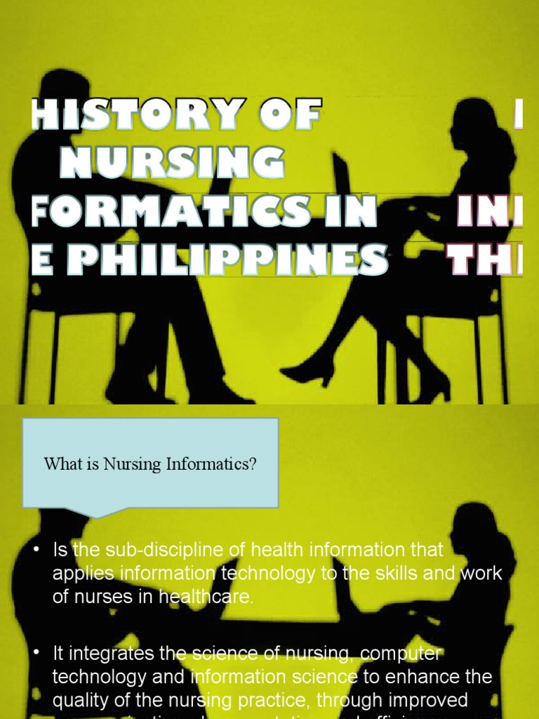 the history of healthcare informatics The science of informatics drives innovation that is defining future approaches to information and knowledge management in biomedical research, clinical care, and public health.