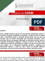 PPT - Aula Bonus - Direito Constitucional - Aula 01 - Prof. Erival
