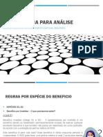 REGRAS BÁSICA PARA ANÁLISE 2.0