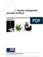 Cannabis - Suicide, Schizophrenia and Other Ill Effects DFA