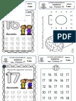 Fichas de matematica -SETIEMBRE