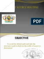 Secure and Policy Compliant Source Routing