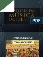 Trovadorismo - Pariodo Medieval