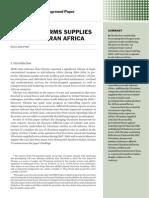 Ukrainian arms supplies to sub-Saharan Africa