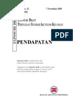 PSAK 23 (revisi 2009) Pendapatan
