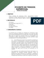 5. EL COEFICIENTE DE TENSION SUPERFICIAL
