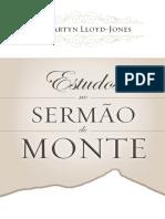 Estudos No Sermao Do Monte - Lloyd-Jones, D. Martyn