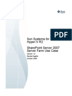 SharePoint Server 2007 Server Farm Use Case