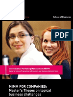 LUT MIMM thesis brochure
