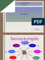 EXERCÍCIOS DE ORTOGRAFIA (3)