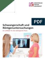 Schwangerschaft Und Röntgenuntersuchungen