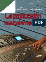 La producción musical en estudio