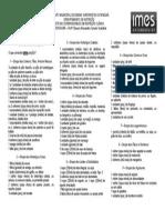 Lista de Substituições