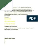 Bonfiglio. G (1982) Los Orígenes Del Desarrollo de La Comunidad