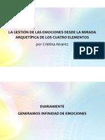 Presentación Cristina Alvarez