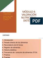 Curso UNFSC. Módulo 4. Evaluación Dietética