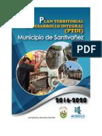 Plan Territorial Del Desarrollo Integral - Santivañez