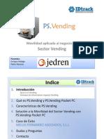 Movilidad aplicada al Sector Vending con PS.Vending Pocket PC