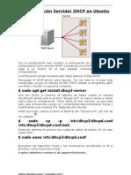 Configuración Servidor DHCP en Ubuntu