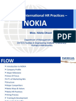 HR Practices at NOKIA