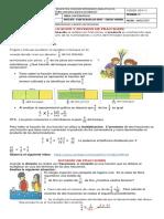 4 GUIA DE MATEMATICAS - MULT  y DIVISIÓN FRACCIONES
