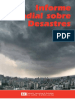 Informe Mundial sobre Desastres 2010