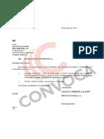 Documentos de Alcogal sobre offshore de Jorge Peñaranda Castañeda