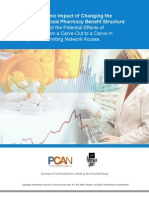 The Economic Impact of Changing the Texas Medicaid Pharmacy Benefit Structure