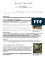 Project WILD - 2010 Annual Report