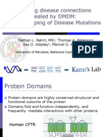 Nathan Nehrt, MS - Clustering disease connections revealed by DMDM