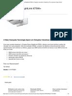 Projetor Epson BrightLink 675Wi+ _ Projetores Interativos