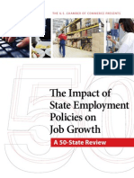 US Chamber of Commerce--50 State Review of Job Creation Policies