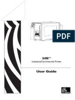 Zebra S4M User Manual