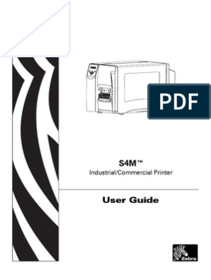 Zebra 105sl User Guide