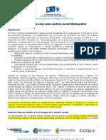 Declaracion de Lima sobre justicia restaurativa