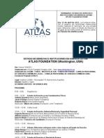 Seminario ATLAS Foundation - Instituciones y Estado de Derecho