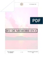 MEMORY GAME Présentation 13122010